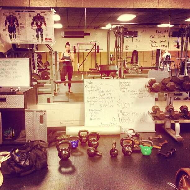 Said goodbye to the St Johnsbury weight room, my home and office for 2 years.