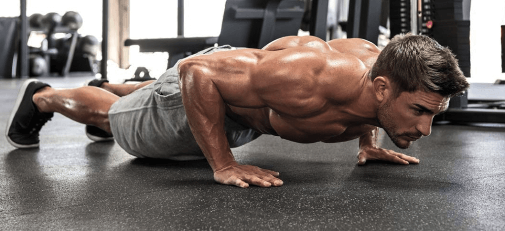 100 push ups for the one punch workout