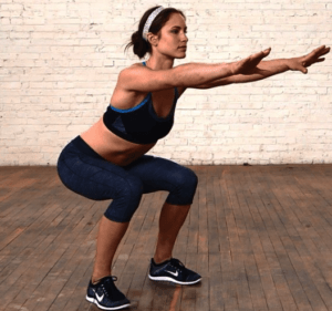 squats exercise to increase metabolism