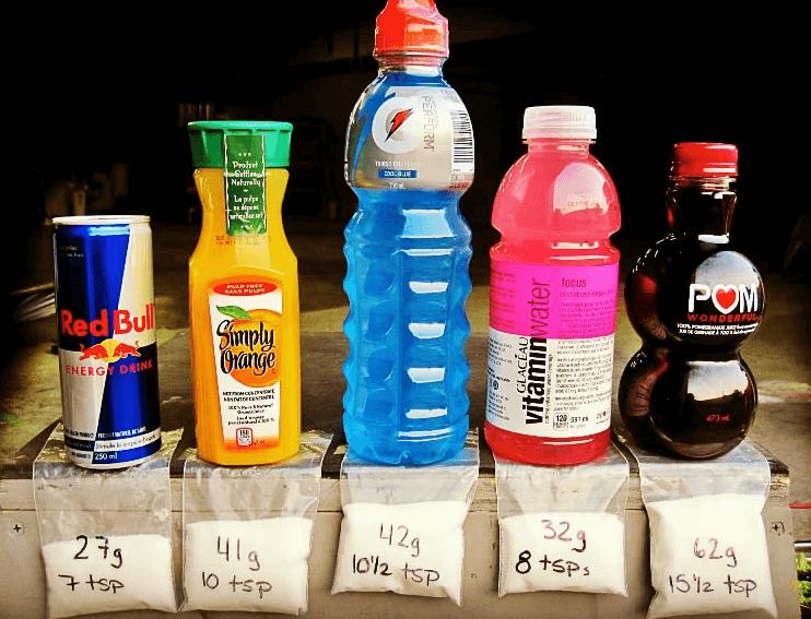to stop eating sugar you must kick sugar filled drinks