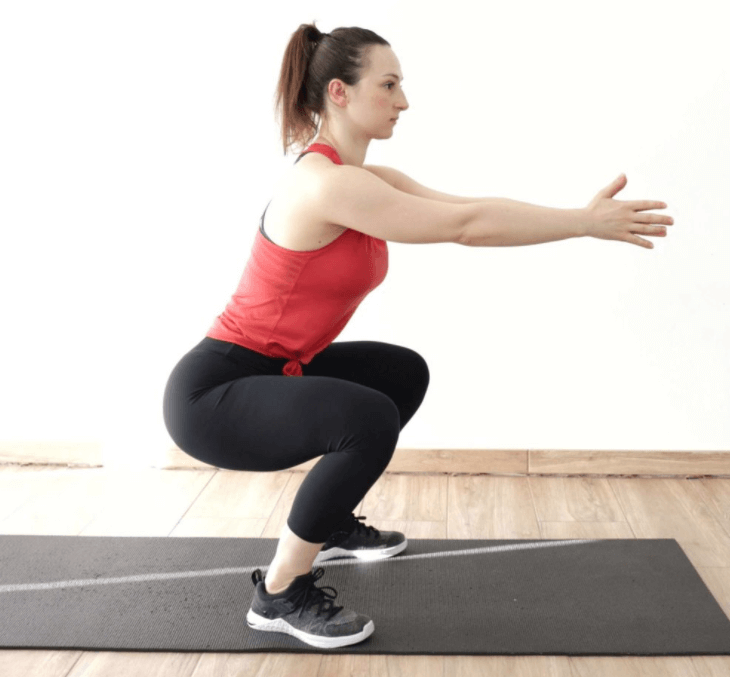 Bodyweight Squat help greatly in measuring your fitness level