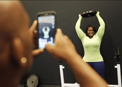 Taking pictures and documenting your progress will help you in tracking your progress at the gym