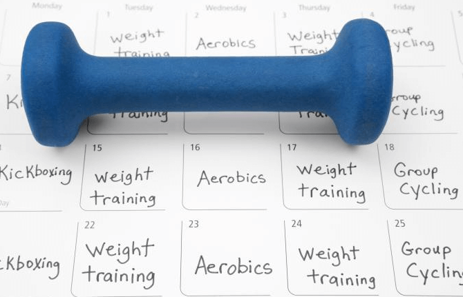 Creating a workout schedule will help you organize your time and stay on your track you achieve your goals at the gym