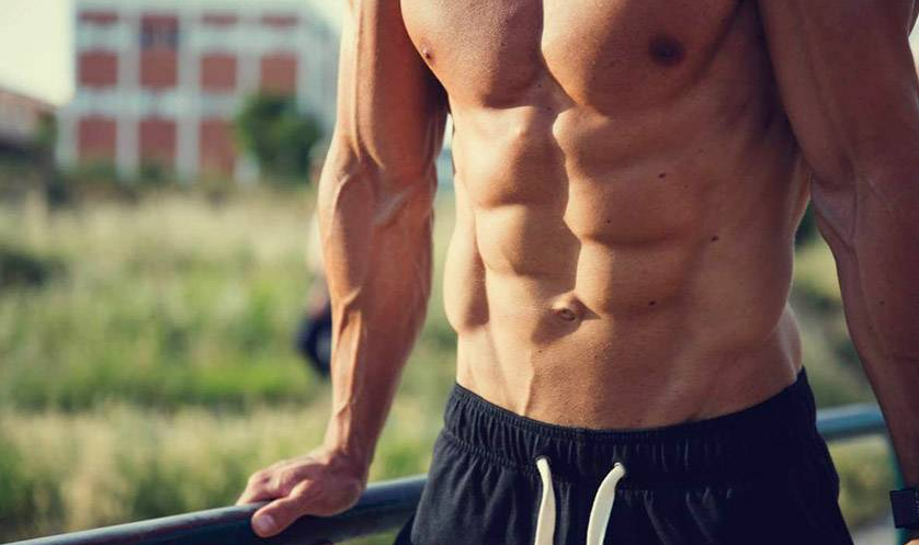 Abs are one of the muscle groups Worked by The Military Press