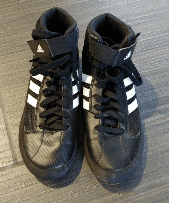 The Adidas HVC Wrestling Shoes are great as low top boxing shoes not just for wrestling