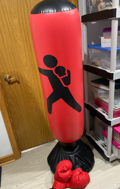 How Air impacts punching bags when it's used to fill the punching bags