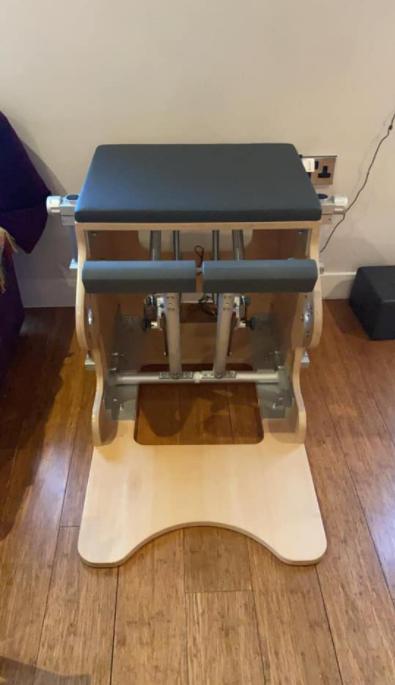 The BASI Wunda Chair Is a great pick when choosing a Pilates Chair
