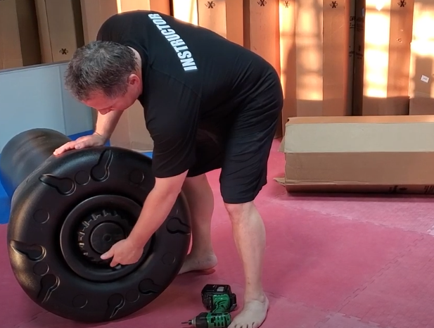 One of the things to Consider When Buying a Floor Punching Bag They Are Easy to Setup