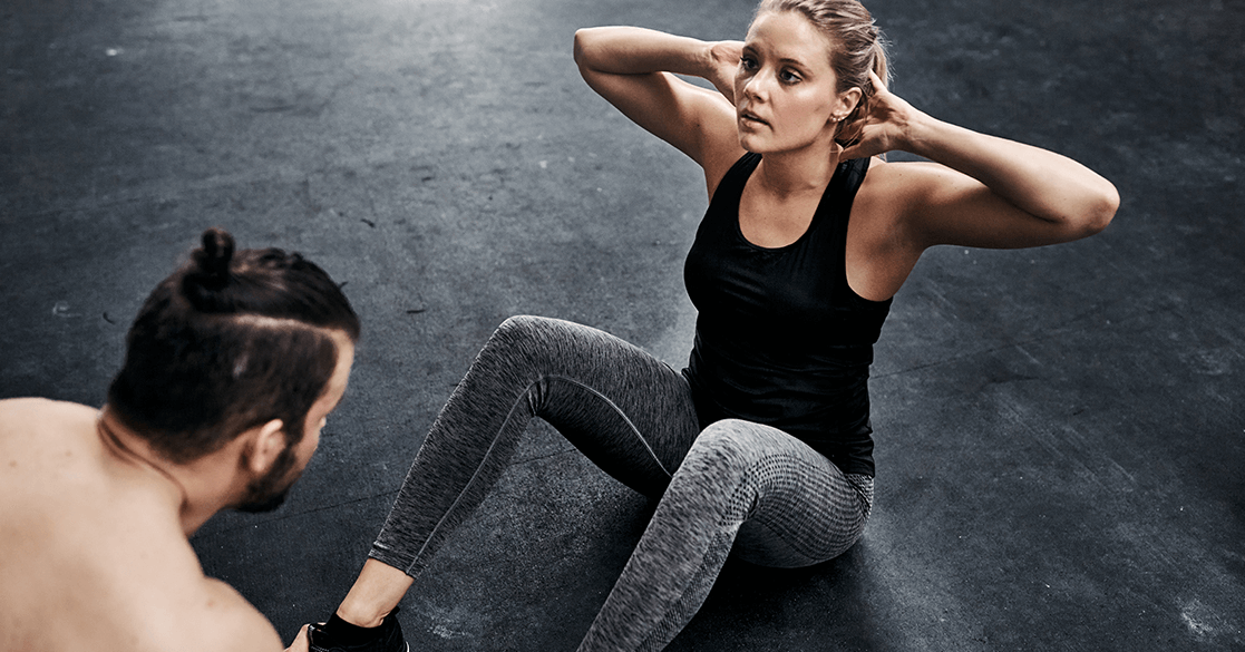 Negative Sit Ups are a good Alternative to the Double Crunch