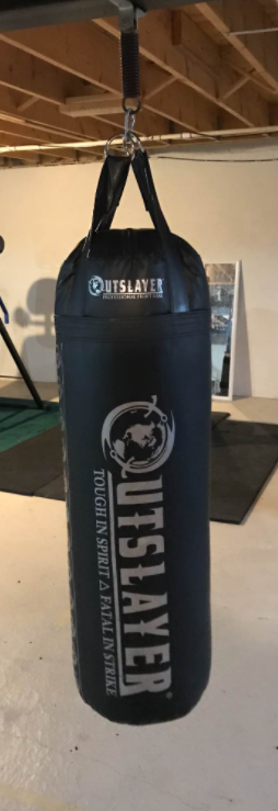 Outslayer Muay Thai Punching Bag Is our pick for the best 300 lb. bag on the market