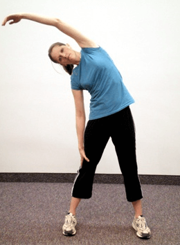 One of the Alternatives to the Wall Angels Exercise Is Overhead Arm Reach