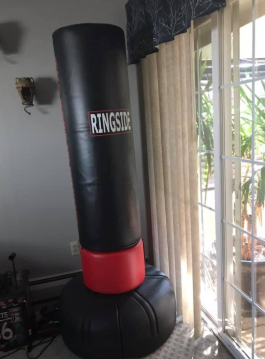 Ringside Elite is a great free standing bag to use outdoors