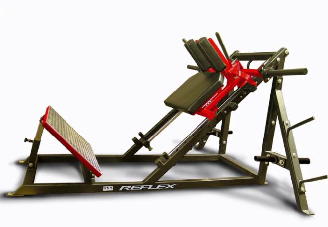 Rogue Fitness Reflex Hack Squat Machine is the best squat machine For Commercial Use & Heavy Weight Loads