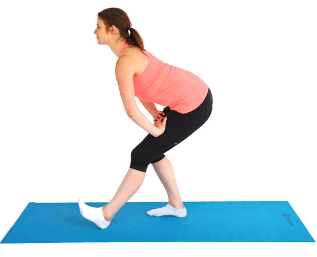 The Standing Hamstring Stretch Is One of The Stretching Exercises That Help with Posture