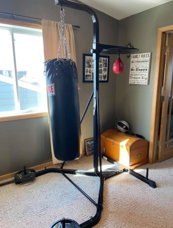 TITLE Heavy Bag & Speed Bag Stand Is a great option when picking an outdoor heavy bag stand