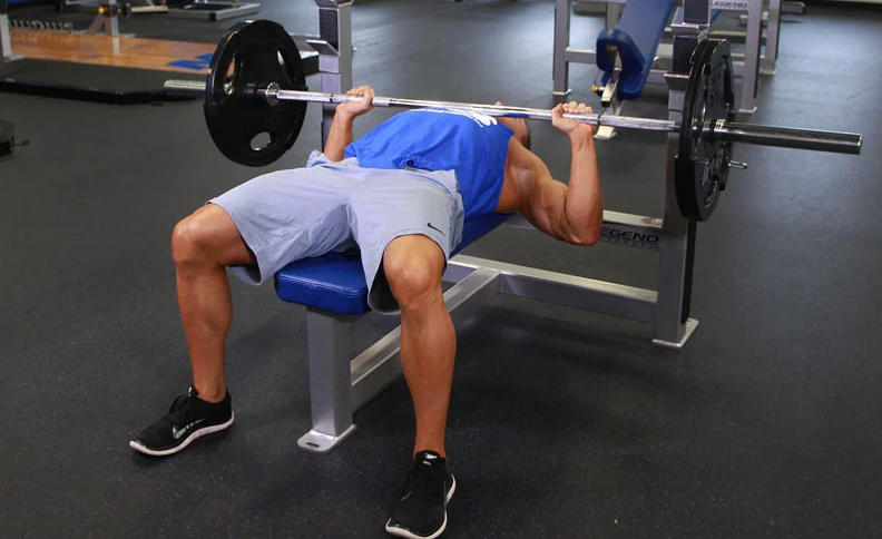 Barbell Bench Press Is a great alternative to Alternating Dumbbell Press