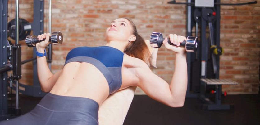 One of the Benefits of the Alternating Dumbbell Press is it is Beginner Friendly