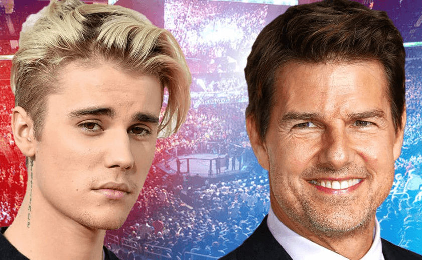 The Fight Between Justin Biber and Tom Cruise