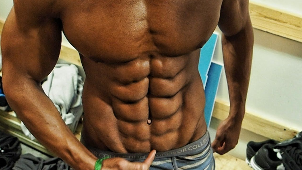 People with 10-Pack Abs Are Born with It