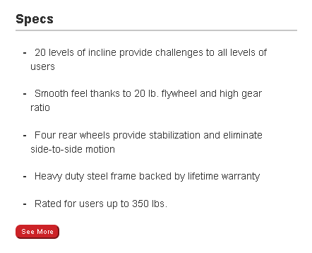 Sole E25 warranty