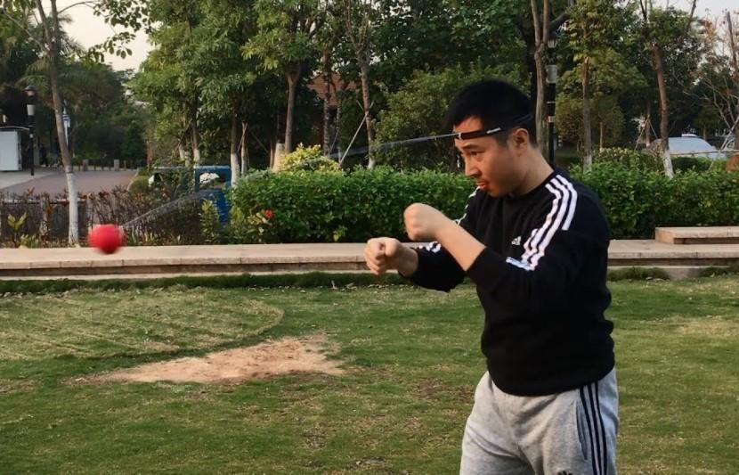 TEKXYZ Boxing Reflex Ball – Most portable bag on the list