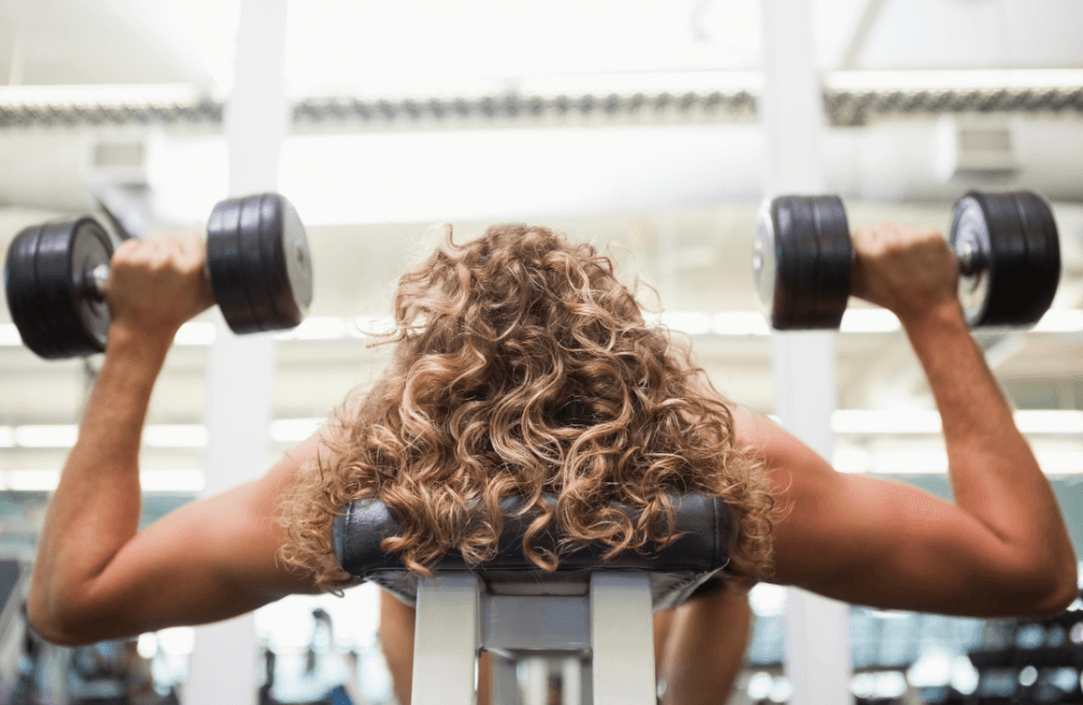 The Best Work Out Clavicle Muscless By Alternating Dumbbell Press