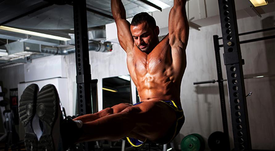how to do weight hanging leg raises get ten pack