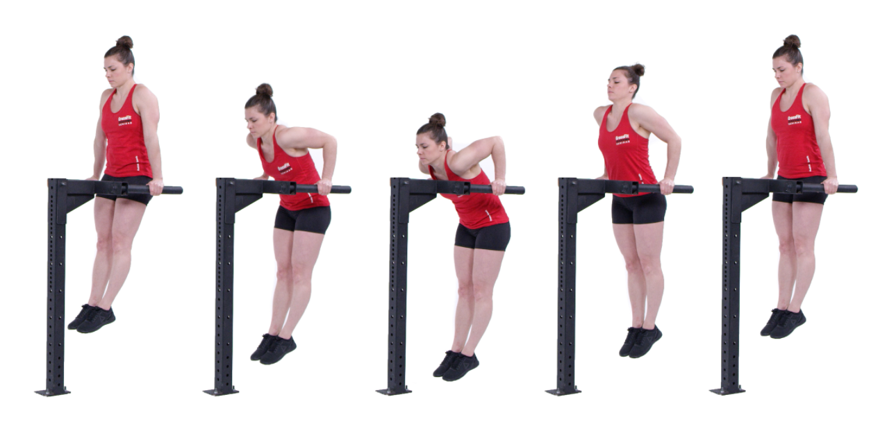 Dips are another exercise you can add to the dumbbell stopgap program
