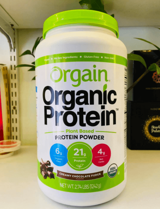 Orgain Is the first protein shake I took