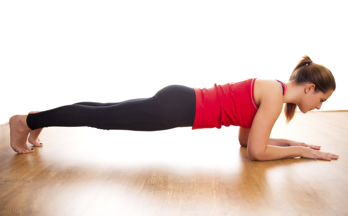 doing Planks as part of workout A