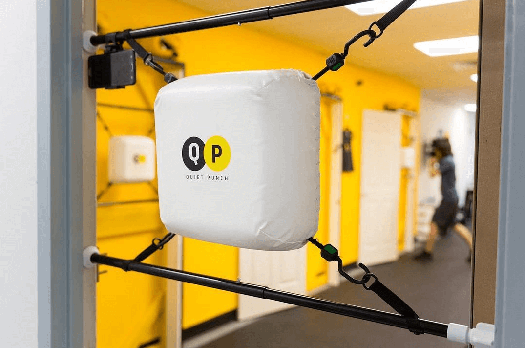 Our pick for the best portable punching bag