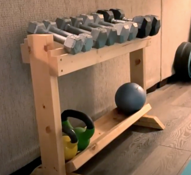 What Exactly Is A DIY Dumbbell Rack