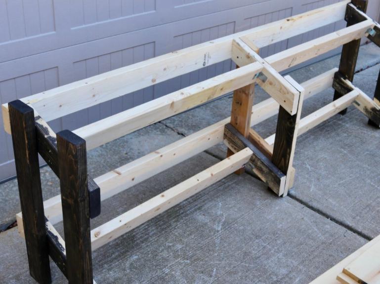 How Wooden DIY Dumbbell Racks