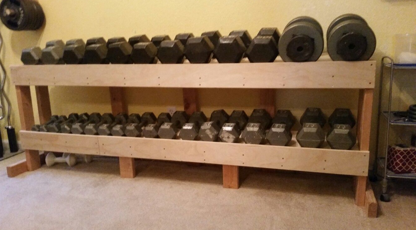 Why Do You Need A DIY Dumbbell Rack Anyways