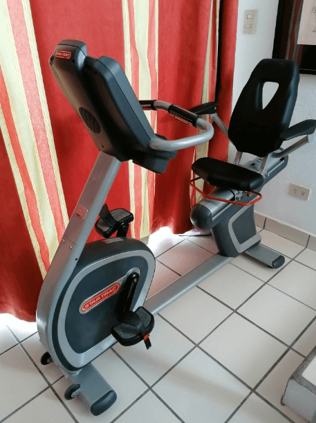The Star Trac is built for luxury, so much so, that you can even watch TV as you work out
