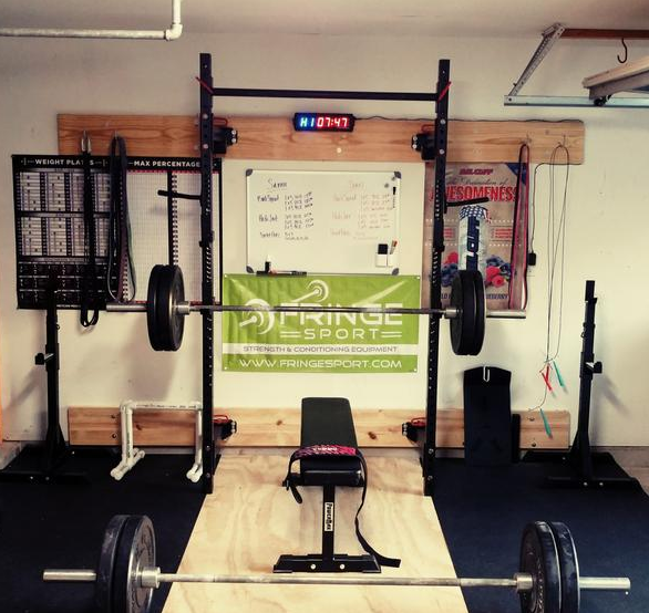To use your rack, you need barbells, unless you don't intend on doing any lifting