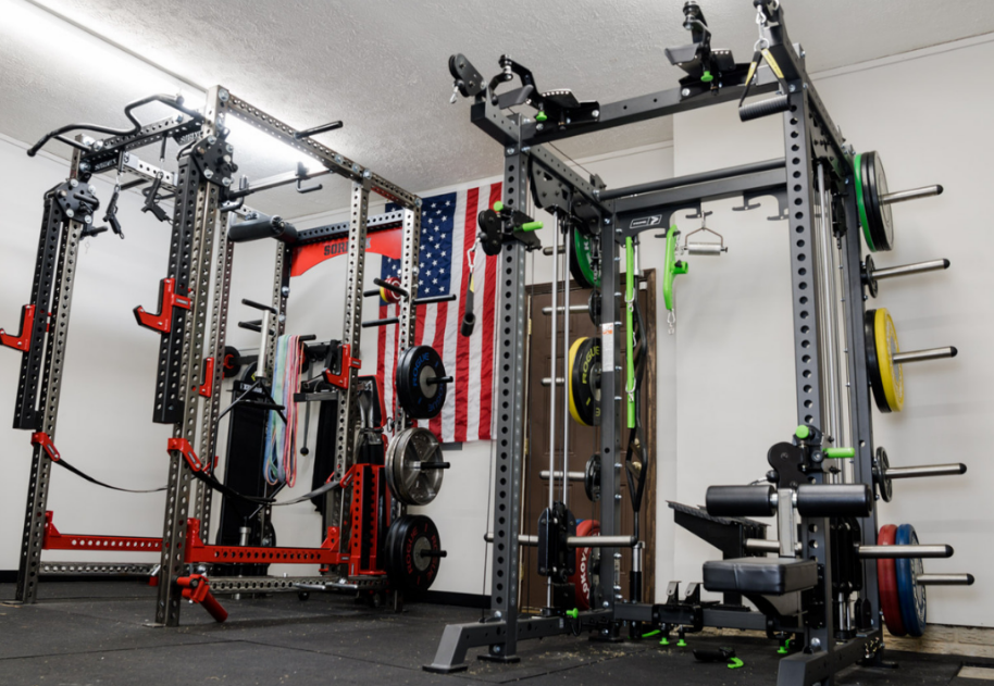 These racks vary in size and shapes, you can choose depending on the available room in your gym