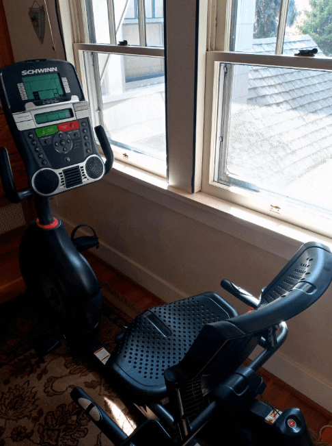 This Schwinn stands out for its Bluetooth connectivity to your phone for easy data transfer