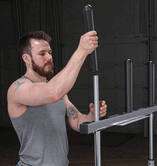 "What Is BodySolid 8"" Adapter   1"" Bars to 2"" Bars"