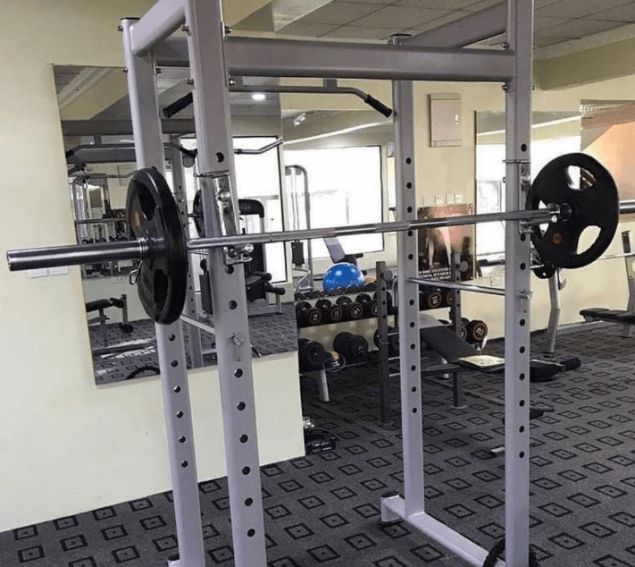 Squat Rack with Pull-up Bar Tips