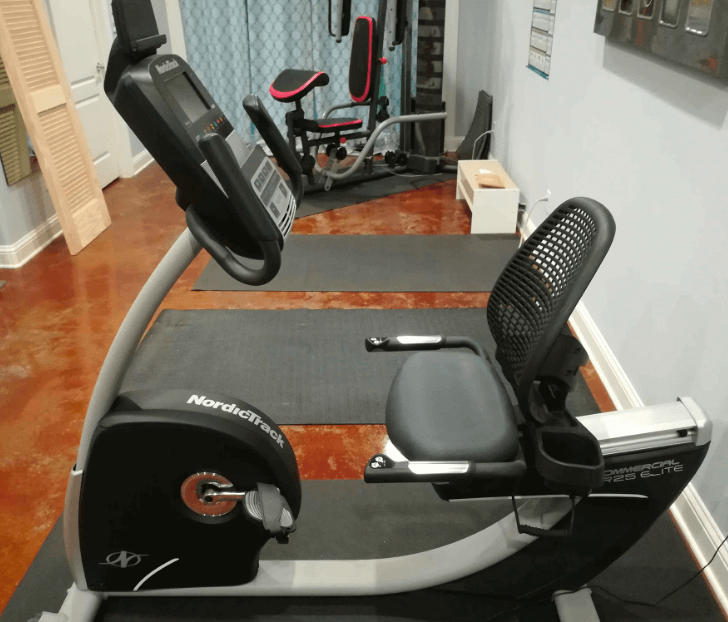 This Nordictrack bike has a bright, beautiful screen, and allows you to connect to iFit workouts