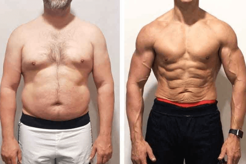 lowering body fat will help greatly in making your abs more visible