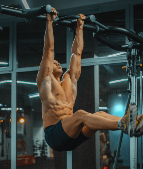 the Hanging Leg Raise is my favorite exercise to perform to work the abdominal area