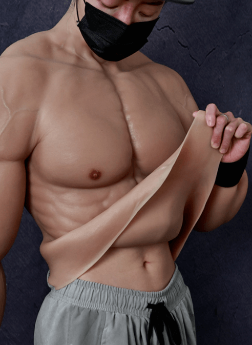 there are multiple ways to create an illusion of abs