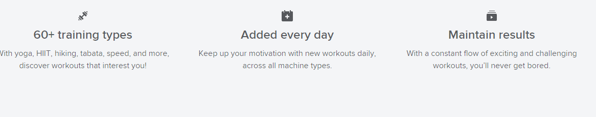 Ifit comes with a heap of awesome features for incredible workout experience