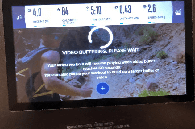 Ifit takes the prize in terms of streaming clarity