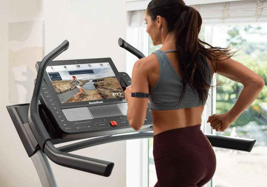 Ifit works better on a treadmill