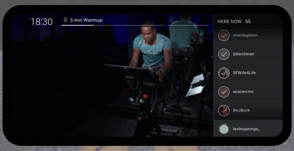Peloton too is jam packed with some great features