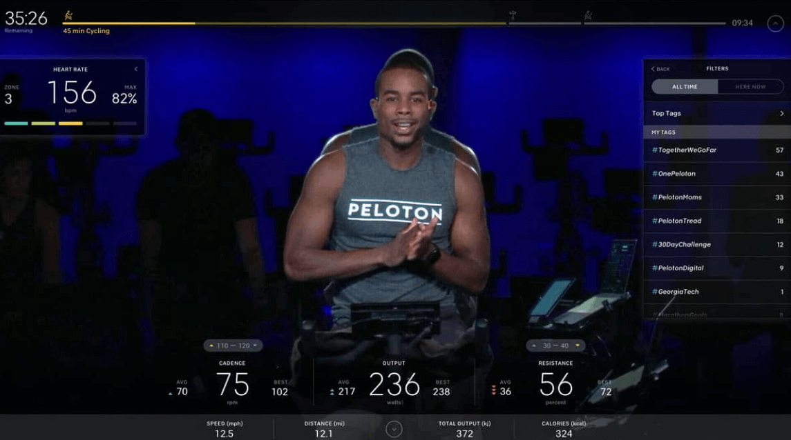 Peloton is by far the best if you want great instructors