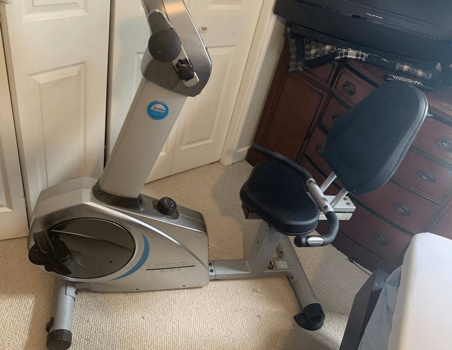 Stamina Elite Total Body Recumbent Bike is a great pick for exercise bikes with back support